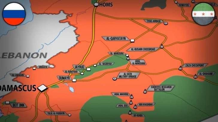 Сирия: созданы две зоны деэскалации при участии России