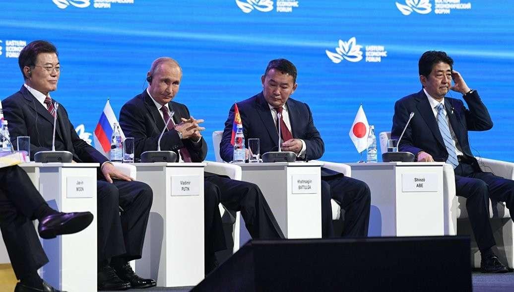 Русский президент показал азиатам, кто тут тигр. Японцы и корейцы поняли