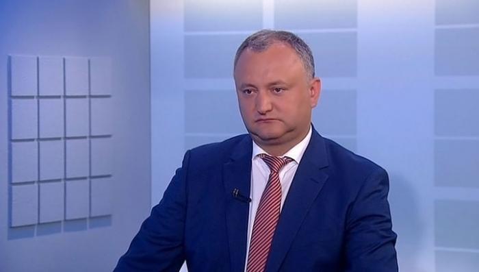 Додон требует немедленной отставки и.о. министра обороны Галбуры