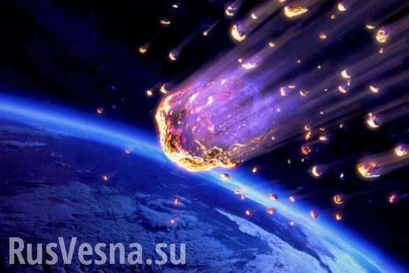 Кубань: появились кадры падения метеорита | Русская весна