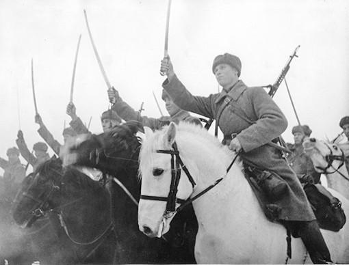 Как трое русских казаков перерубили целую немецкую автоколонну