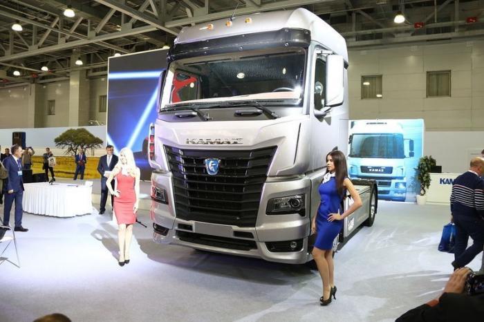 Российский производитель из Набережных Челнов представил новый тягач: КАМАЗ-54901