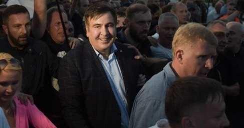 Бомж Саакашвили прорвался воЛьвов. Революция гидности в опасности