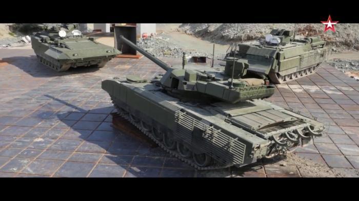 Документальный фильм о секретах перспективного российского танка Т-14 «Армата»