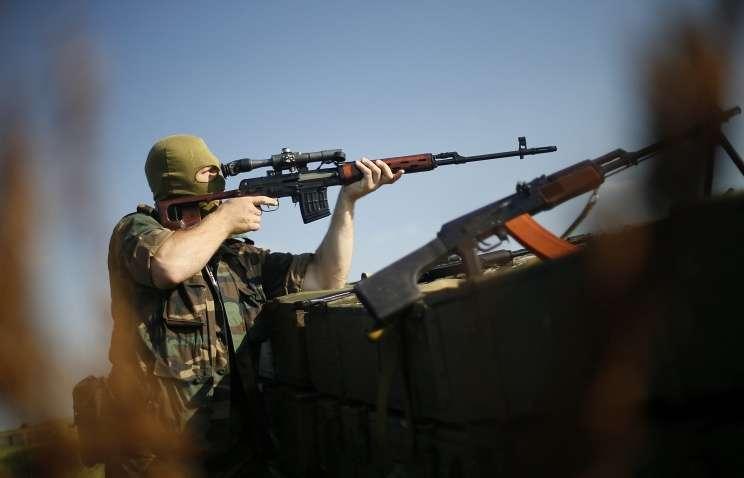 Рота украинских карателей сдалась в плен армии ДНР