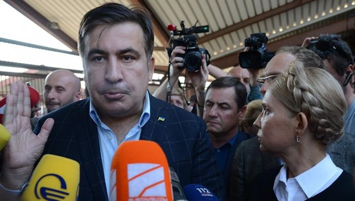 Прорыв Саакашвили на Украину: «фарс века» в реальном времени