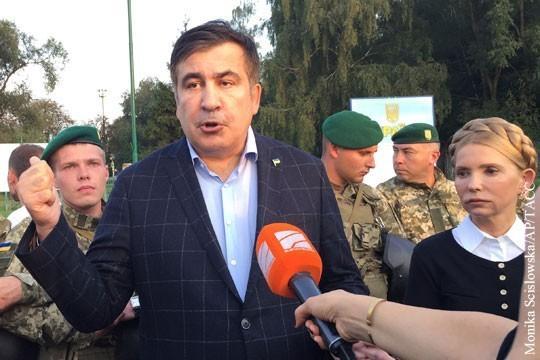 Саакашвили vs Порошенко: четыре пути развития конфликта в незалежной