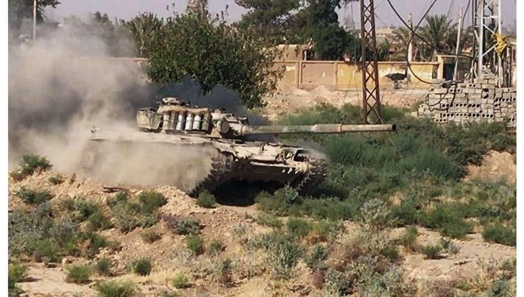 Сирийская армия начала наступление на позиции американских наёмников в Дейр-эз-Зоре