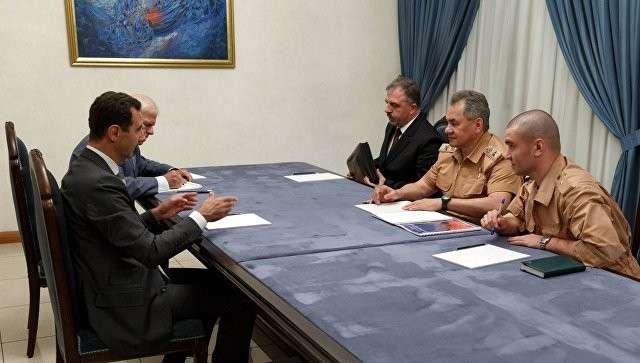 В Дамаске Сергей Шойгу и Башар Асад обсудили военно-техническое сотрудничество