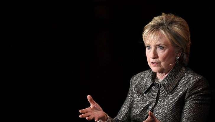 Пенсионерка Клинтон обвинила Владимира Путина в «личной вендетте»
