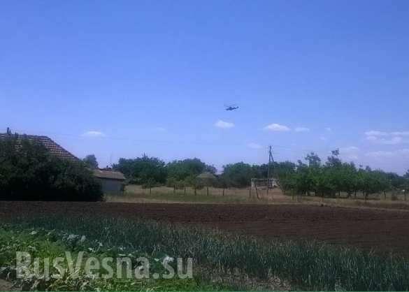 Украина: русский «Аллигатор» Ка-52 прорвался в незалежную и испугал херсонцев | Русская весна
