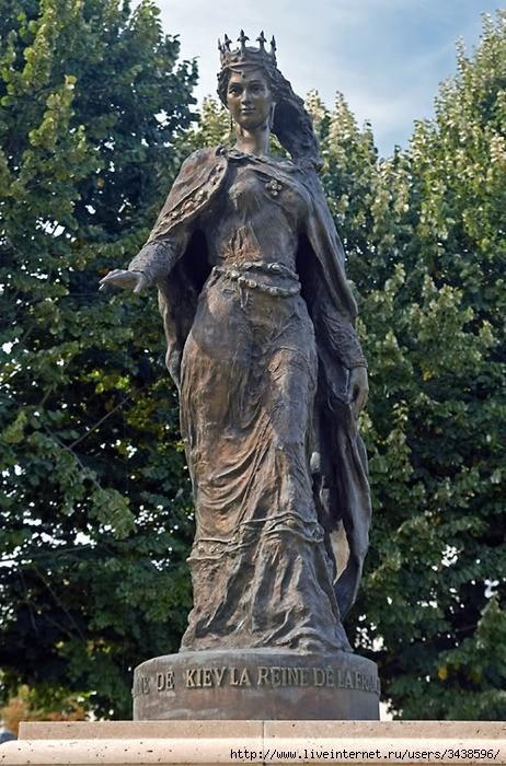 Анна Ярославна – королева дикой Франции в 11 веке