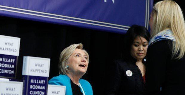 Старухе-маньячке Клинтон задали вопрос об убийстве Сета Рича