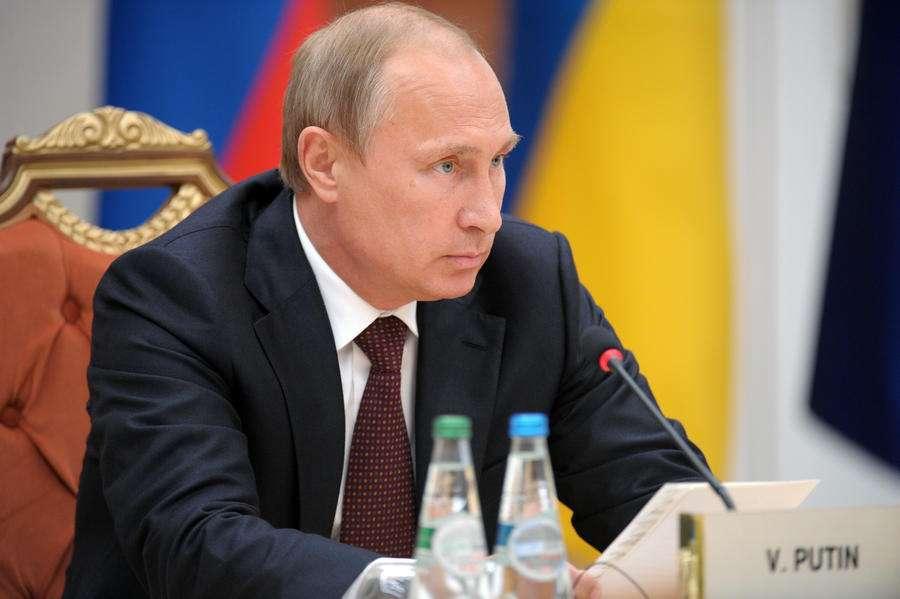 Владимир Путин: Россия будет делать всё для мирного процесса на Украине