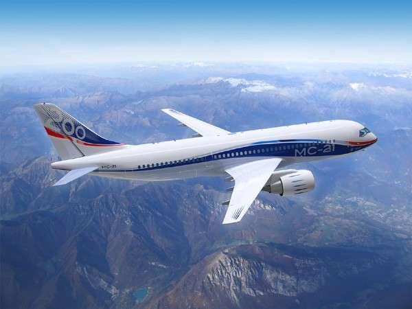 На разработку самолета МС-21 представлены госгарантии