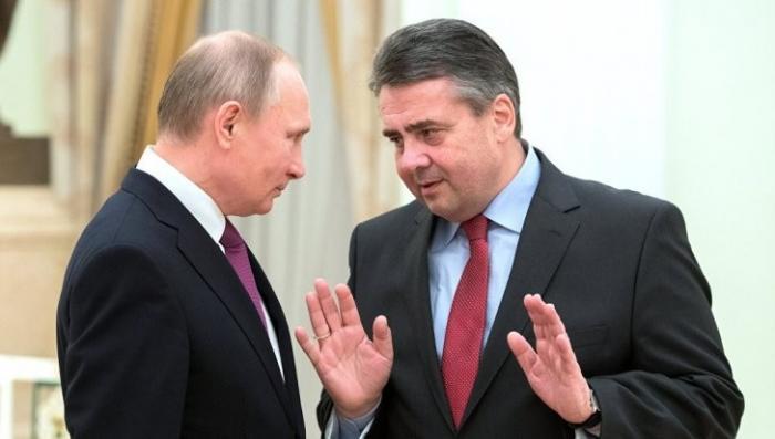 Немецкий министр оказался «на крючке» у Владимира Путина