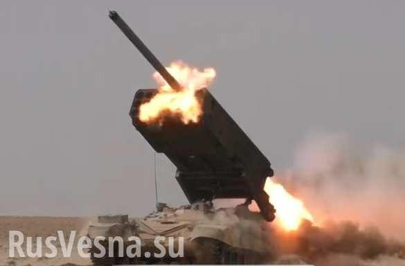 Под прикрытием «Солнцепёков» и ВКС России «Тигры» готовят переправу через Евфрат