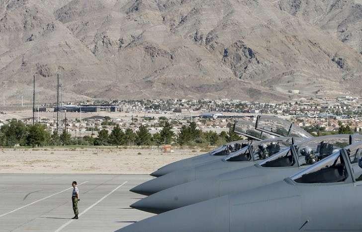 База ВВС США Неллис в Неваде