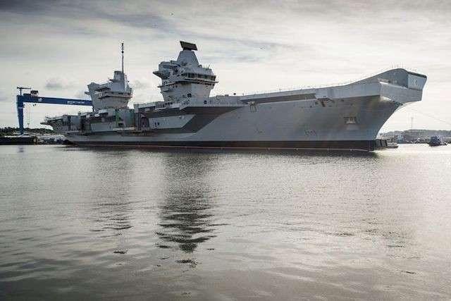 В Великобритании три четверти боевых кораблей не могут выйти в море