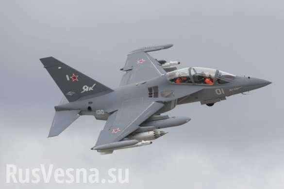 Под Борисоглебском разбился учебно-боевой самолет Як-130 | Русская весна