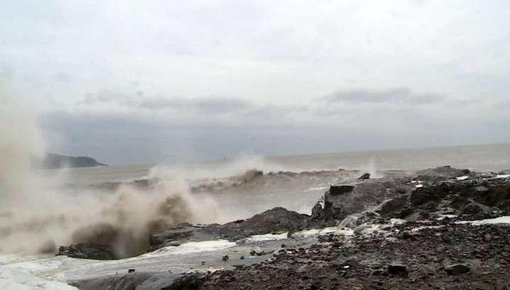 На Японию надвигается тайфун
