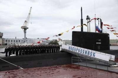 ВМФ России получил первую подводную лодку проекта 636