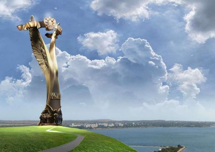 Стела возле Керченского моста станет одной из главных достопримечательностей Крыма