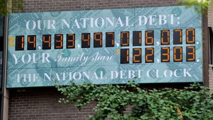 Госдолг США: почему в Нью-Йорке убрали табло со счетчиком госдолга