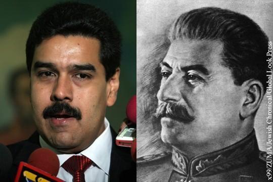 Президент Венесуэлы увидел в себе сходство со Сталиным