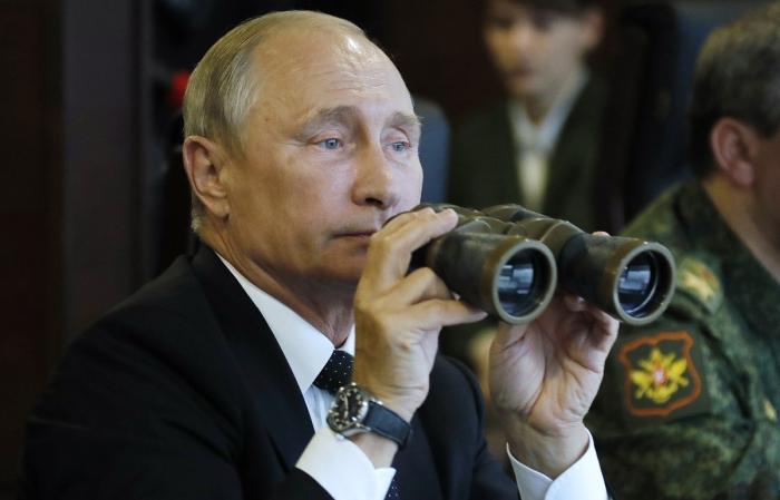 Владимир Путин посетил учения «Запад-2017», в ходе которых ВС РФ уничтожили диверсантов