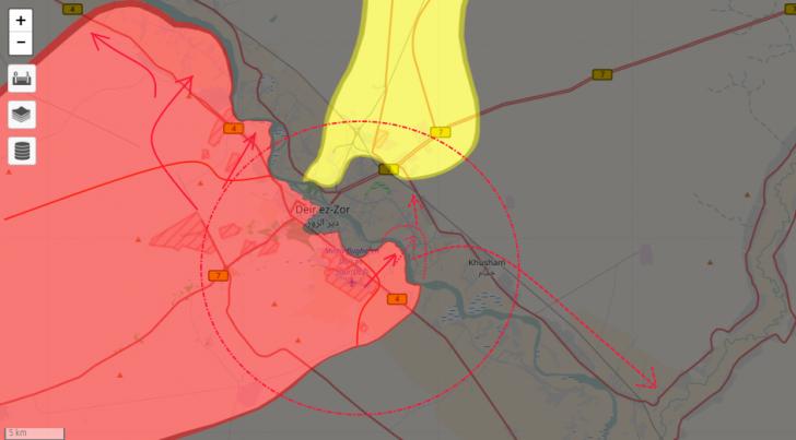 Сирия: операция «левобережье» Ефрата или прощай пропиндоский Курдистан