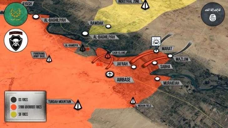 Сирия: правительственная армия пересекла Евфрат. Рубикон пройден