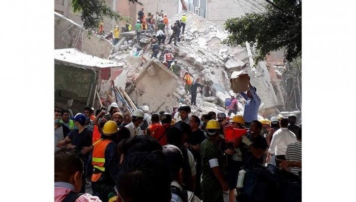 Мексика – сильнейшее землетрясение, пострадало более 200 человек