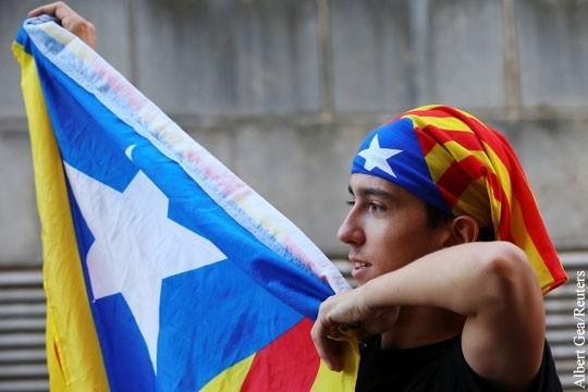 Стремление Каталонии к самостийности объяснили «рукой Кремля»