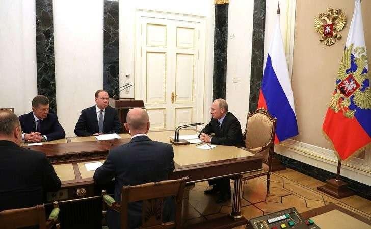 Встреча свновь избранными главами субъектов Российской Федерации.