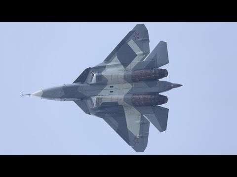 Су-57 (Т-50 ПАК ФА) за 90 секунд интересные факты о новейшем истребителе России
