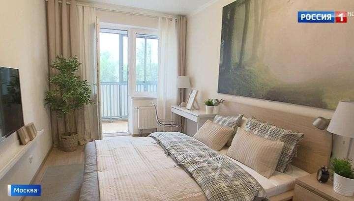 В Москве показали квартиры для участников программы реновации