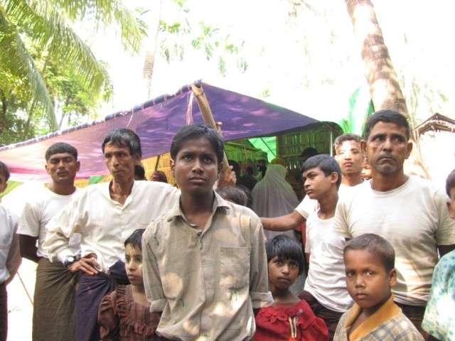 Рохинджа, Мьянма