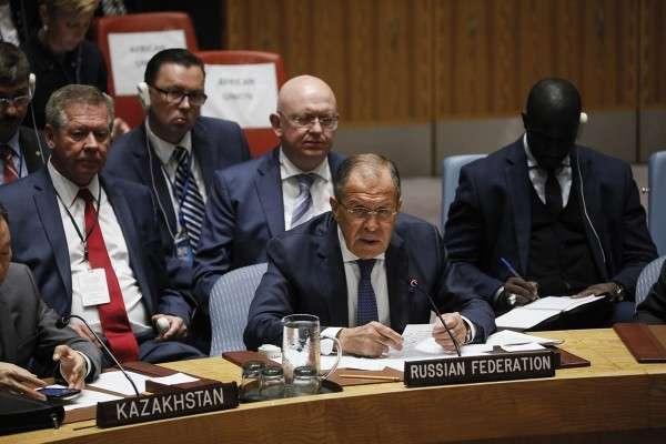 Сергей Лавров выступил в Совете Безопасности ООН 20 сентября 2017 года