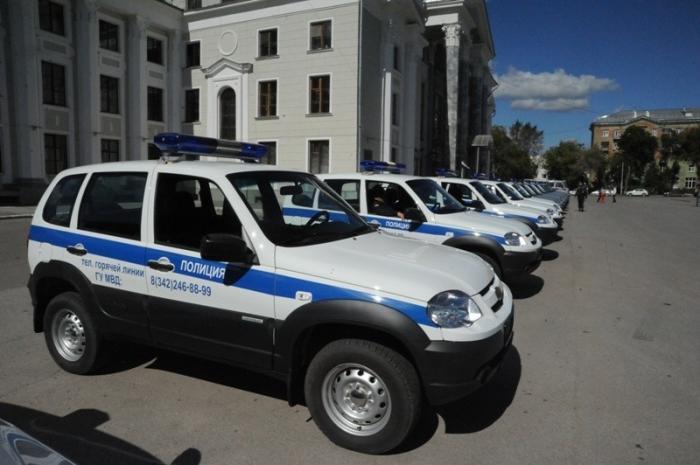 Полиция Пермского края получила 31 новых автомобилей