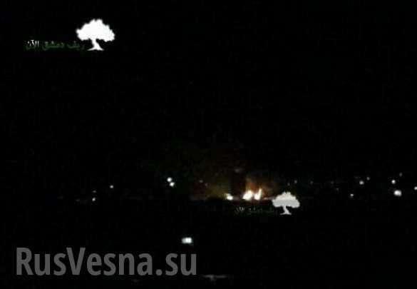 Сирия: сбит ударный БПЛА террористического Израиля, атаковавший столицу | Русская весна