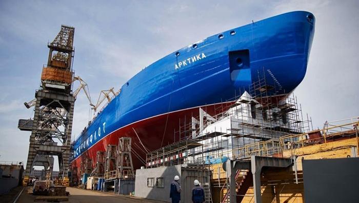 Арктика: Россия выпускает новый мощнейший в мире ледокол