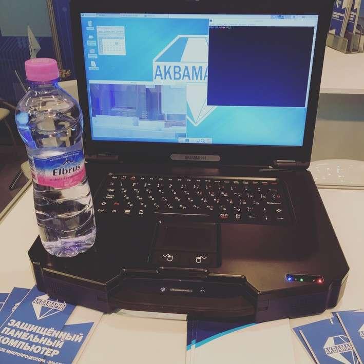 Первый Эльбрус-8СВ изащищенный ноутбук наЭльбрус-1С+ откомпании «Аквамарин»