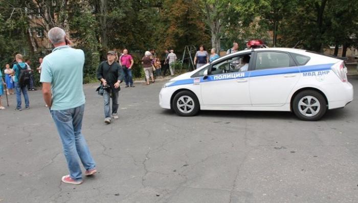 В центре Донецка прогремел взрыв. подробности уточняются