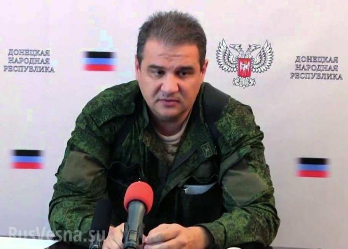 Теракт в Донецке: министр налогов и сборов ДНР не пострадал