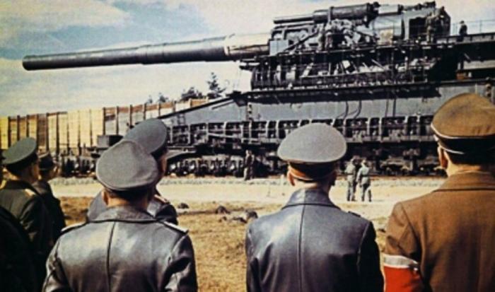Германская суперпушка «Дора»: самое дорогое и бесполезное орудие Третьего рейха