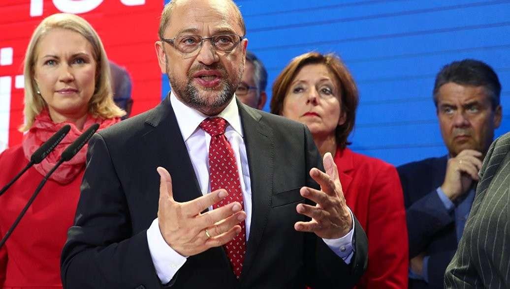 На выборах в Германии Мартин Шульц признал поражение