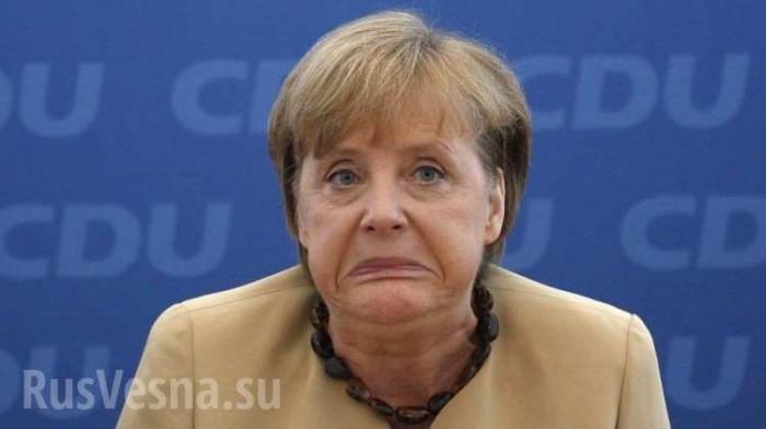 Меркель о выборах в Германии: Это катастрофа!