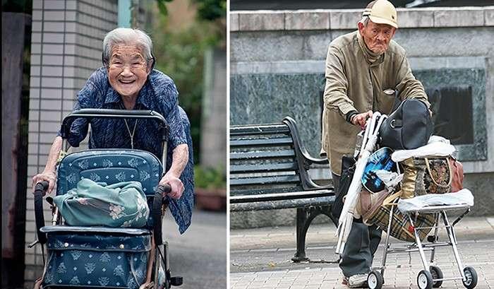 Убасутэ - старый японский *обычай* оставлять стариков в лесу, если нет возможности о них заботиться.
