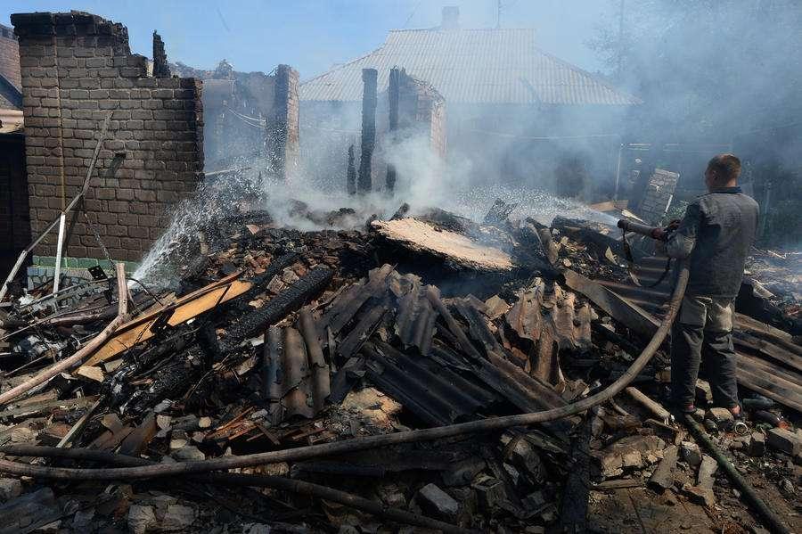 Запад благословил геноцид русскоговорящего населения на востоке Украины
